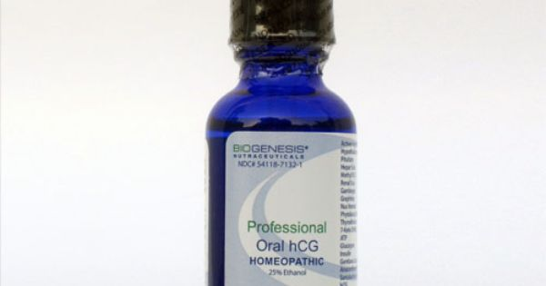 Homeopathic Professional Grade Oral #hCG is manufactured