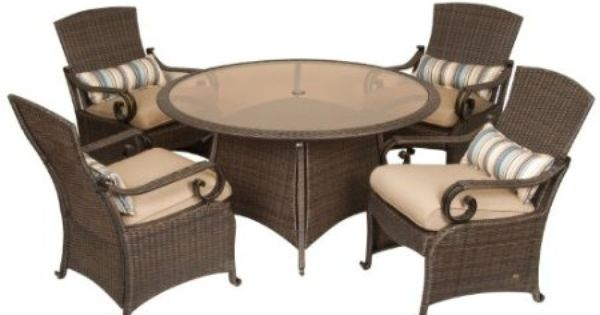 Lake como 5 piece dining set by la z boy for La z boy dining room chairs