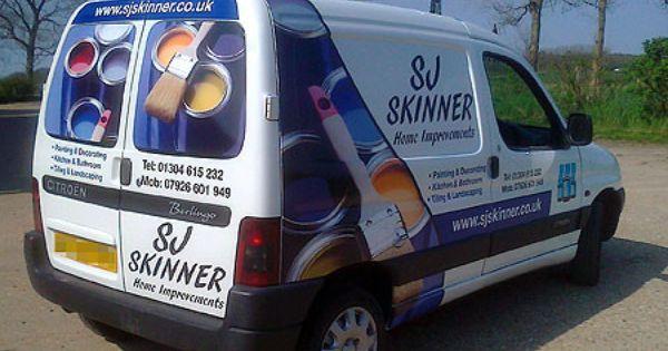 Painter And Decorator Van Vinyl Graphics Graphics And