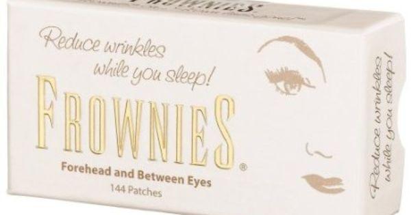 Amazon Com Frownies Forehead Between Eyes 144 Patches Beauty Frownies Forehead Facial Patches