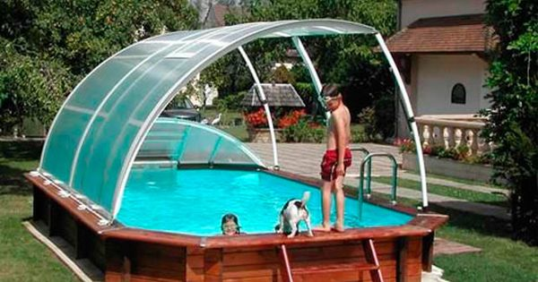 Above Ground Swimming Pool Enclosure Pool Landscaping Swimming