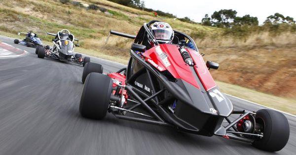 Hyper Pro Racer From Australia Puts Yamaha 450 Wr Power On 4 Wheels Go Kart Kart Racing Go Kart Racing