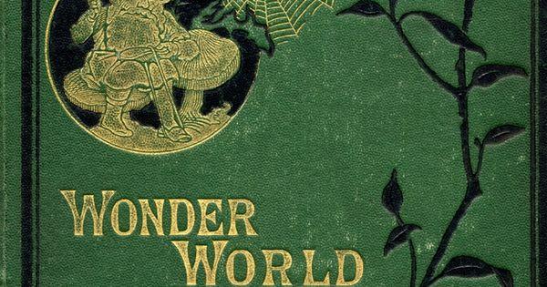 Wonder Book Cover Ideas : Wonder world front cover miniatures pinterest