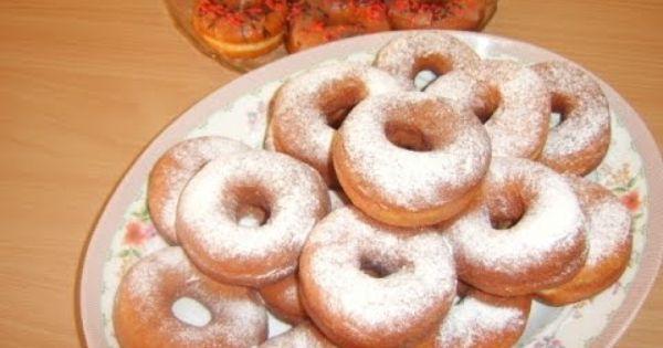 طريقة عمل دونات من بيت الدونات Recipes Desserts Food