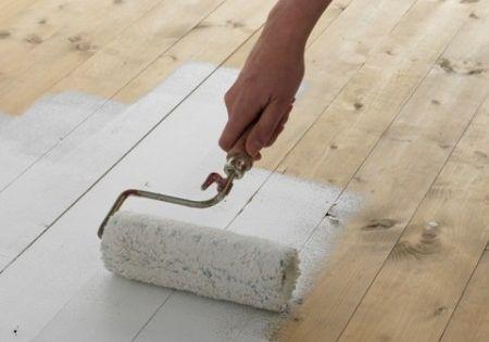 parquet peint pour salle de bains salle d 39 o pinterest decoration interiors and house. Black Bedroom Furniture Sets. Home Design Ideas
