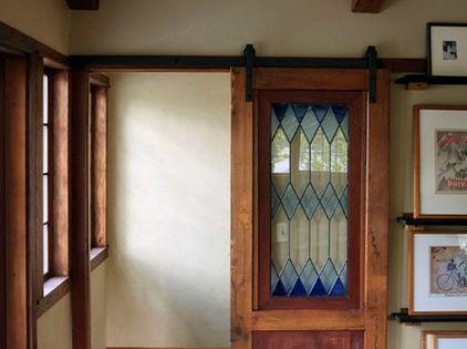 Beautiful Stained Glass Door Interior Barn Doors