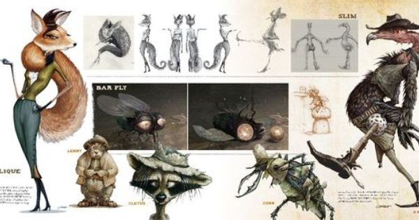 rango character design images