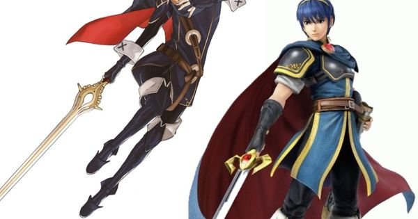 Marth (Lucina) And Marth (Marth). @Silver The Eevee