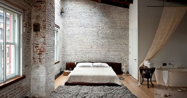 #loft bedroom appartment house bed