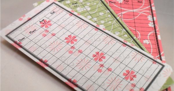 Paper Floral Envelopes | 9 Pretty Envelope Budgeting Systems From Etsy |