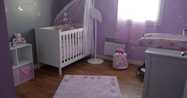 Chambre fille parme chambre pinterest - Kamer bebe pastel ...