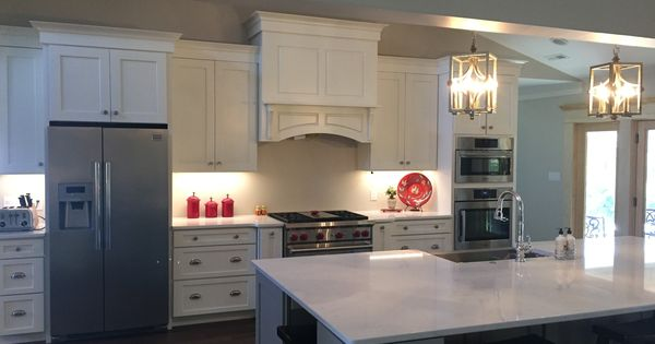 Kith Kitchen Perimeter Cabinets Homestead Ii Maple Alabaster