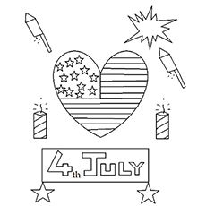 Top 35 Free Printable 4th Of July Coloring Pages Online 4th July