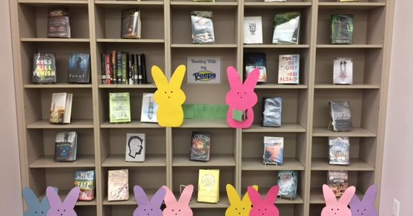 Reading With My Peeps Library Decorations Amp Displays