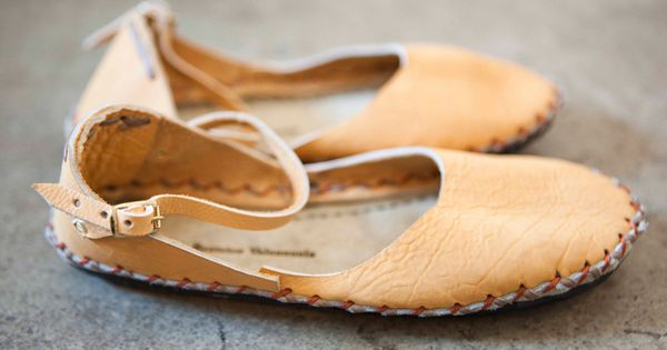 comfortable flats | soft leather