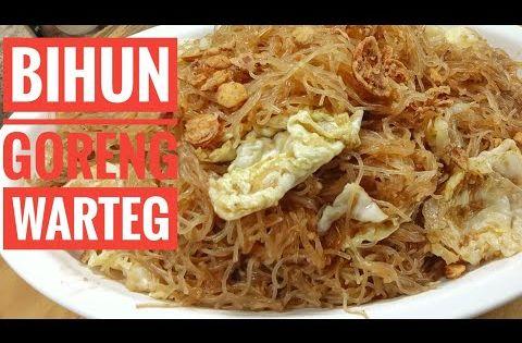 Bihun Goreng Warteg Youtube In 2020 Food Cabbage Vegetables