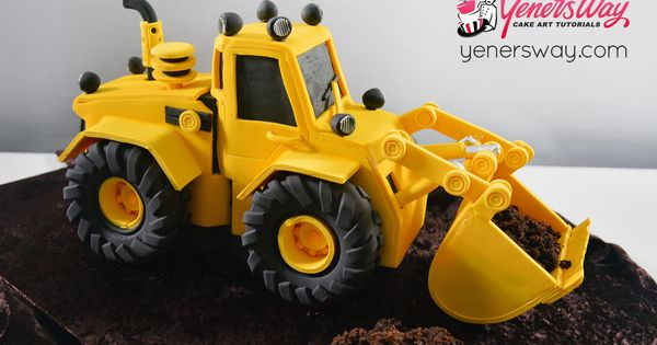 digger cake template - 3d digger cake we recently made this cake and created a