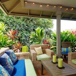 Vintage Hawaiian Decor Tropical Patio Outdoor Rooms Hawaiian Decor