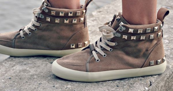 DIY: studded high tops So Cool