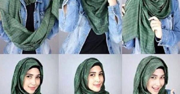 Ini Dia Tutorial Hijab Simple Untuk Para Remaja Kekinian Mengkreasikan Hijab Yang Simple