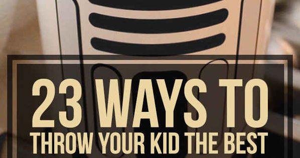 23 Ways To Throw Your Kid The Best Star Wars Birthday Party