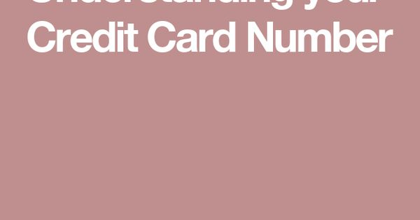 credit card numbers that still work