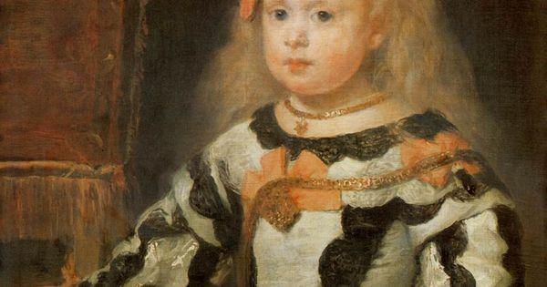 Portrait of the Infanta Maria Marguerita - Diego Velazquez ...