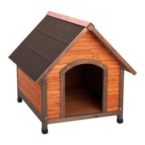 Pet Squeak 3 8 Ft L X 2 6 Ft W X 3 Ft H Arf Frame Large Dog House 0006l B With Images Wood Dog House Large Dog House Cool Dog Houses