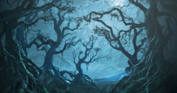 Pin By Lexie Nicole On Harry Potter Haunted Forest Forbidden Forest Night Forest
