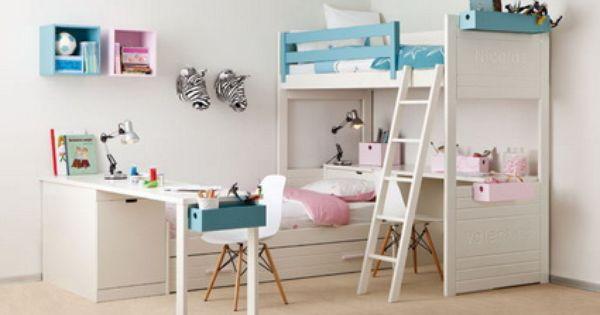 5 ideas para dormitorios infantiles compartidos - Ideas dormitorios infantiles ...