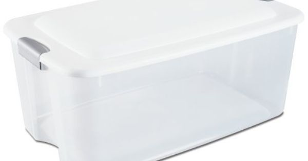 I Am Going To Use These To Make Self Watering Planters For My Vegetable Garden I Can T Wait Sterilite 19908 Sterilite Home Storage Organization Latches