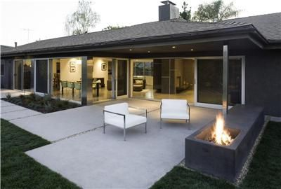 Modern Concrete Patios Google Search Concrete Patio Designs