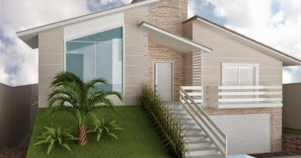 Fachadas De Casas Em Terrenos Em Aclive E Estreitos Fachadas De