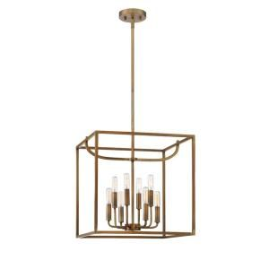 Designers Fountain Uptown 8 Light Old Satin Bronze Interior