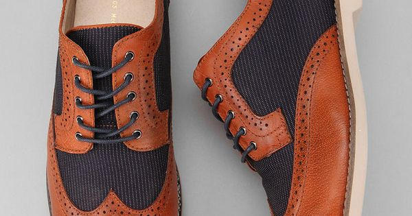 Hawkings McGill Mixed Wingtip Derby shoe style mens fashion