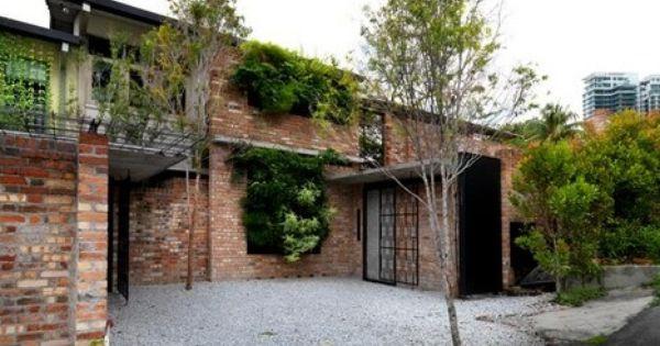 And Studio Sekeping Tenggiri By Seksan Design Facade House Luxury House Designs Minimalist House Design