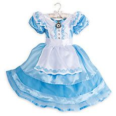 Alice in Wonderland NEW Rare Soldout Disney Store Alice Classic Costume Kids