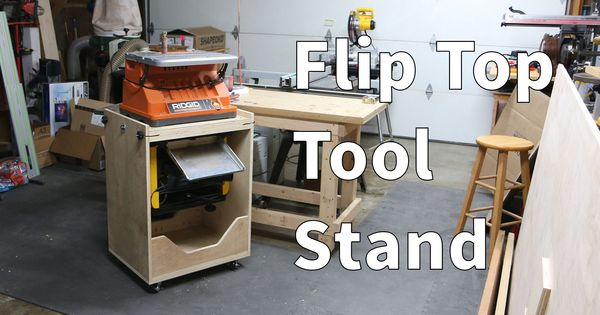 I Build A Flip Top Tool Stand Combining Two Tools In The