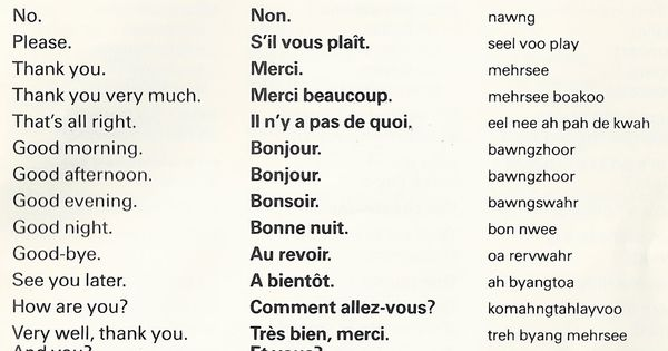 how to say i can t in french