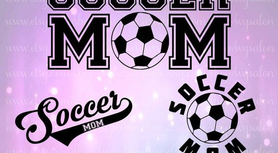 Soccer Mom Decal Cutting Files In Svg Eps Dxf And Jpeg By