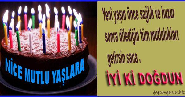 Iyi Ki Dogdun Birthday Candles Cake Desserts