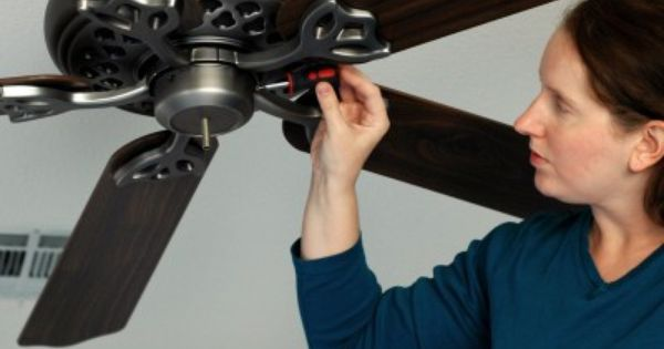 DIY How To Remove a Ceiling Fan