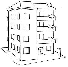 Tipos De Moradia As Diversas Moradias Desenho De Casa Simples