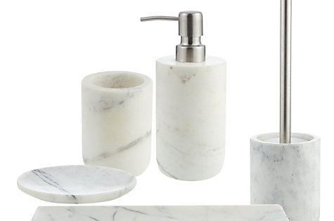 John lewis white marble bathroom accessories bathroom for White bathroom tumbler