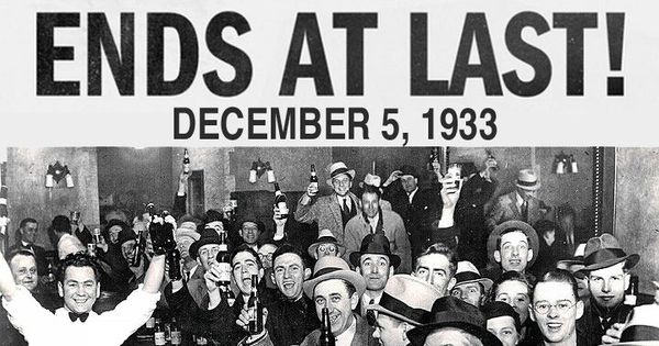 national alcohol prohibition Alcohol prohibition and drug prohibition in the first part of this essay we review the rise, effects and fall of national alcohol prohibition in the us.