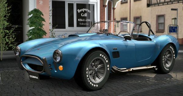 1966 Shelby 427 Cobra Convertible  Fastest Classic Muscle Cars