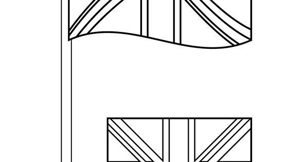Drapeau anglais anglais pinterest drapeau anglais et angleterre - Dessiner le drapeau anglais ...