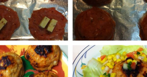 Inside out jalapeño turkey cheeseburgers dashingdish.com @Dashing ...