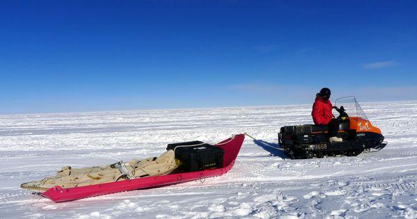 Afbeeldingsresultaat voor container sled antarctic for Can anyone visit antarctica