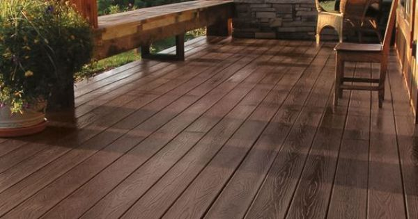 Tamko Evergrain Composite Decking Weathered Wood Color Available 1x6 And 2x6 Outdoor Flooring Deck Redwood Decking